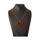 گردنبند زنانه مدل قلبی