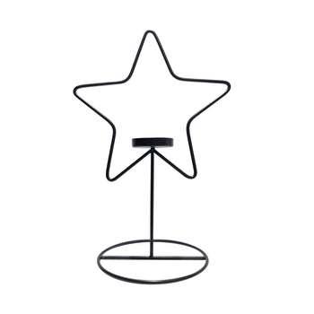 جاشمعی فلزی طرح ستاره کد 01