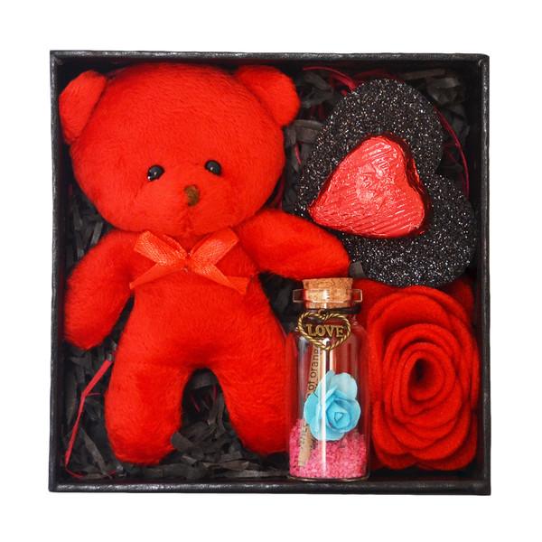 ست هدیه عروسک مدل خرس