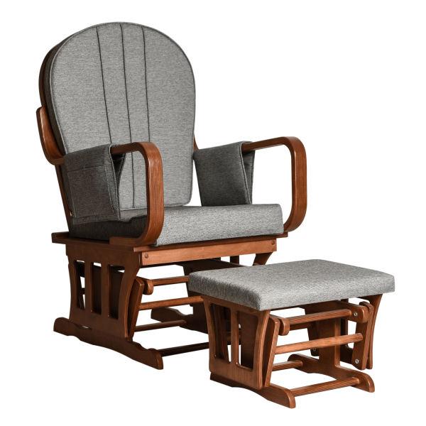 صندلی راک مدل آمادای به همراه پاف
