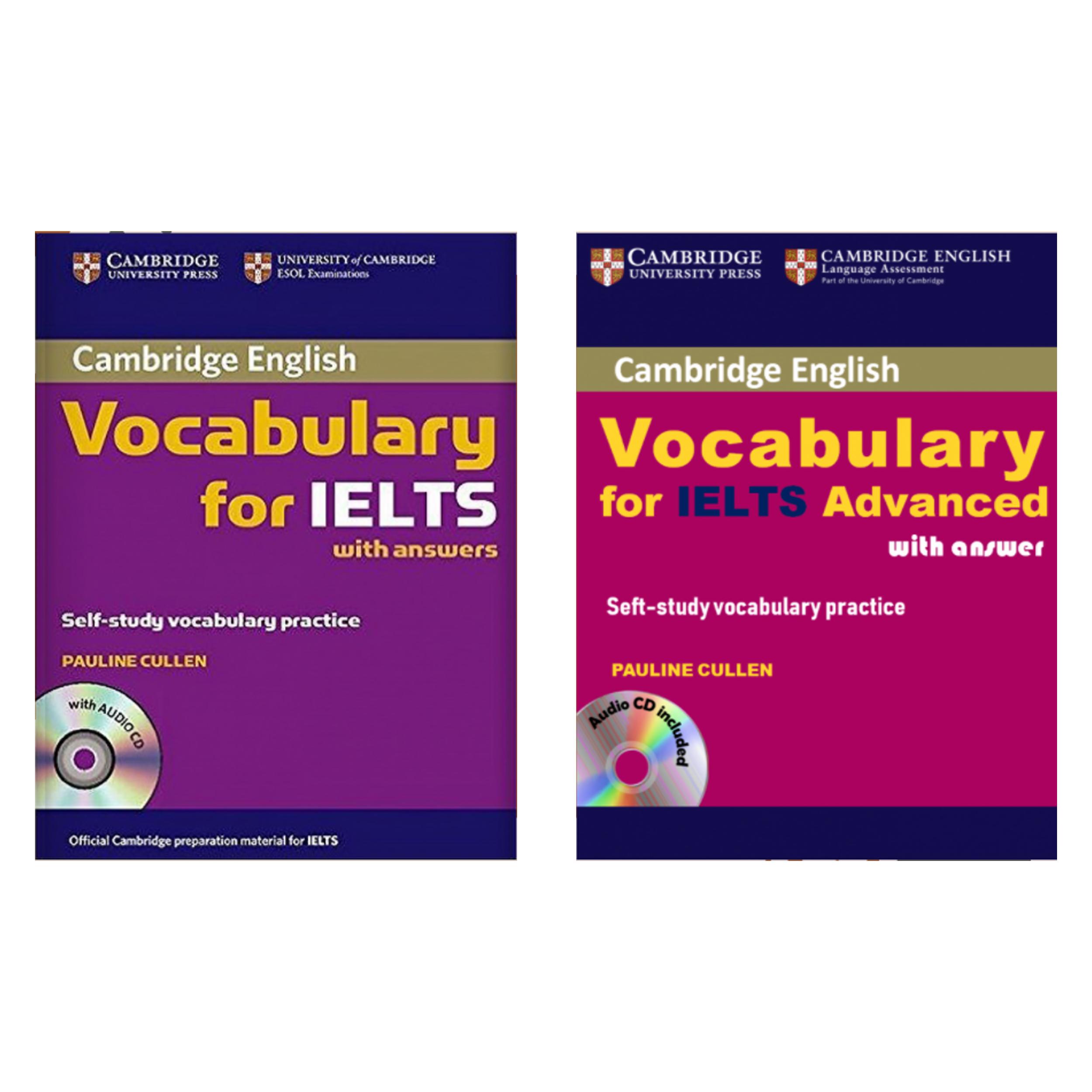 کتاب زبان Cambridge Vocabulary For IELTS اثر Pauline Cullen نشر هدف نوین 2 جلدی