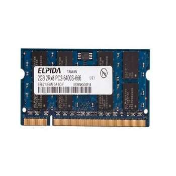 رم لپ تاپ DDR2 تک کاناله 800 مگاهرتز CL6 الپیدا مدل 6400s ظرفیت 2 گیگابایت