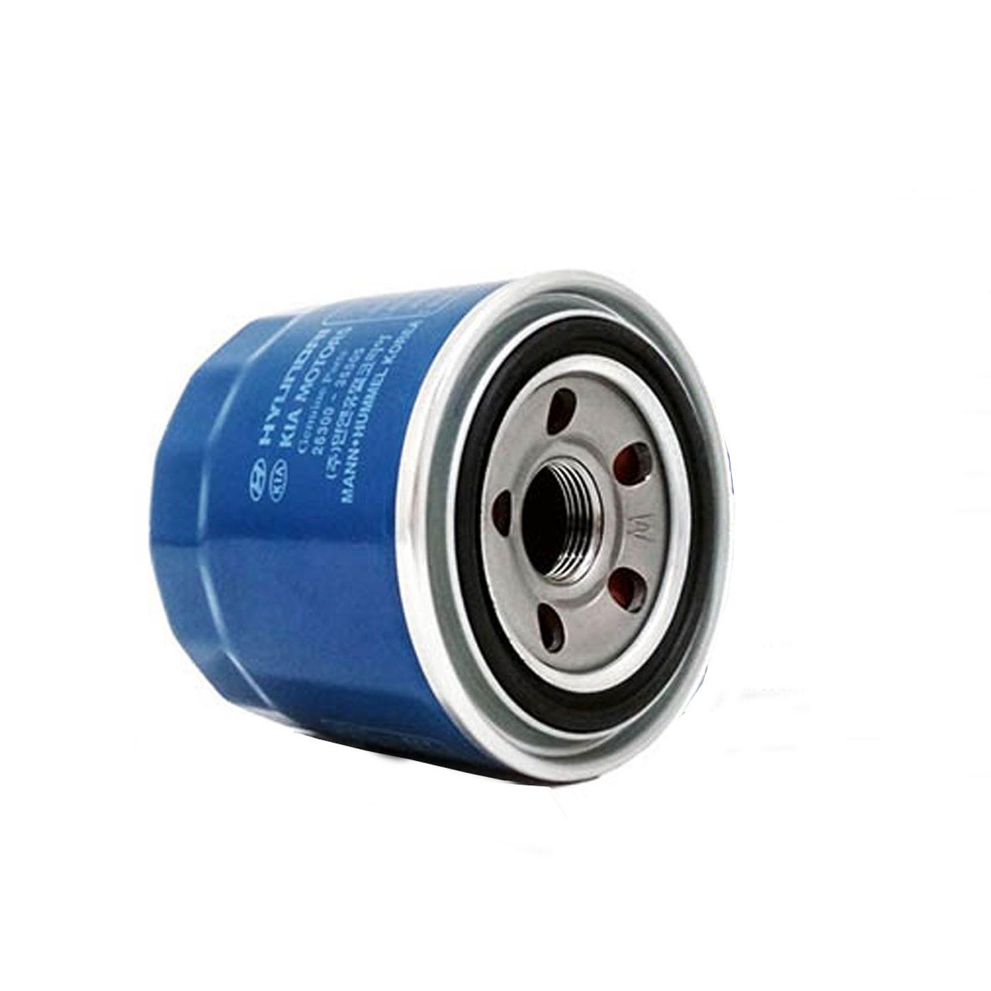فیلتر روغن خودرو هیوندای جنیون پارتس مدل 35505 مناسب برای هیوندای النترا