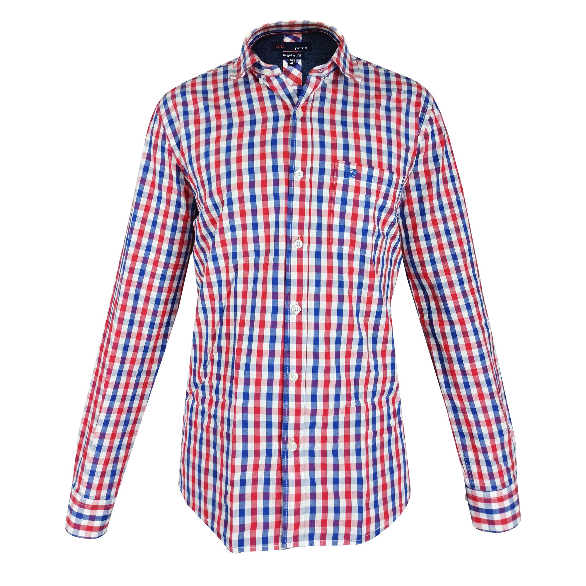 پیراهن آستین بلند مردانه پاتن جامه مدل 102721280393674