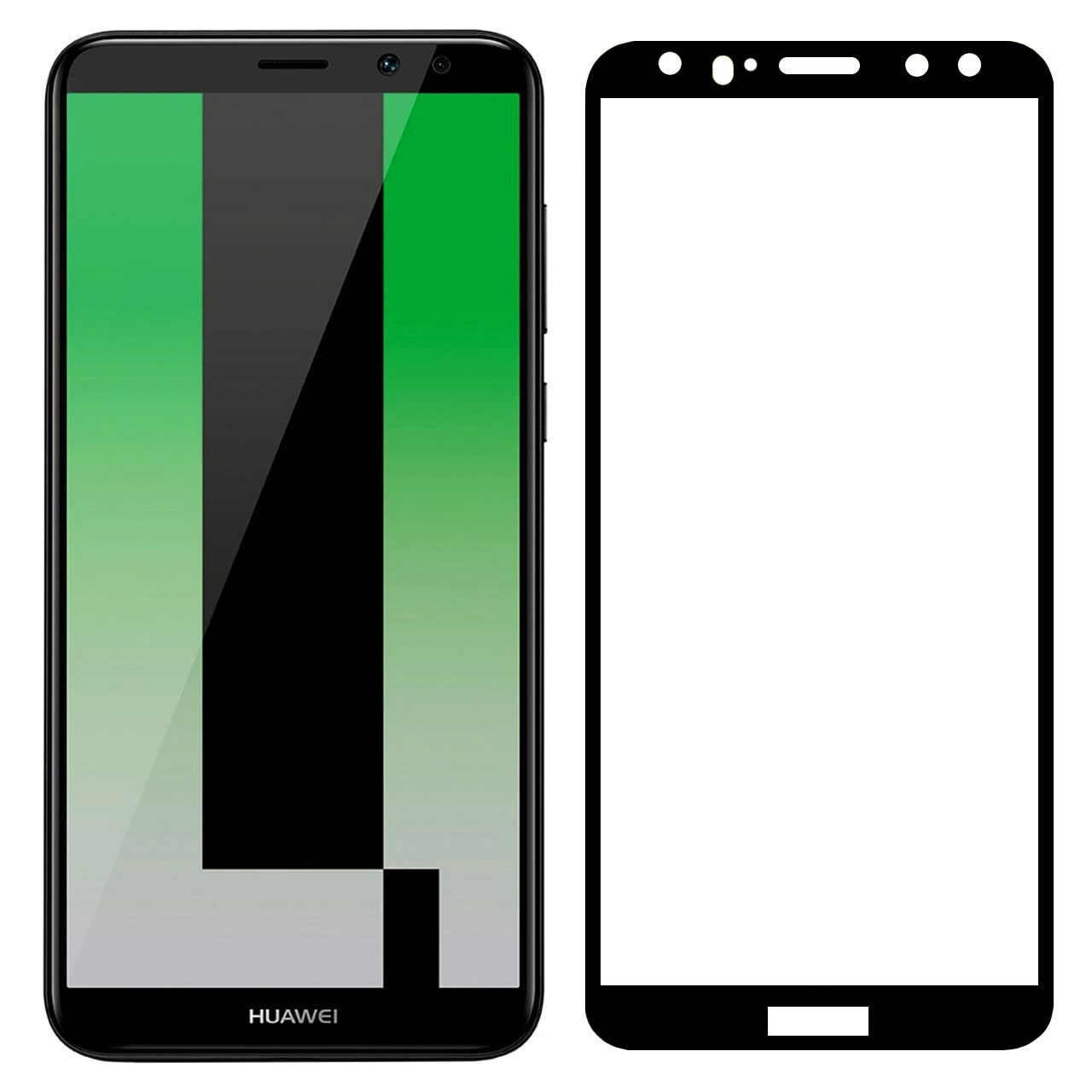 محافظ صفحه نمایش مدل FCG مناسب برای گوشی موبایل هوآوی Mate 10 Lite              ( قیمت و خرید)