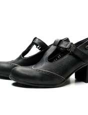 کفش زنانه آر اند دبلیو مدل 454 رنگ مشکی -  - 3