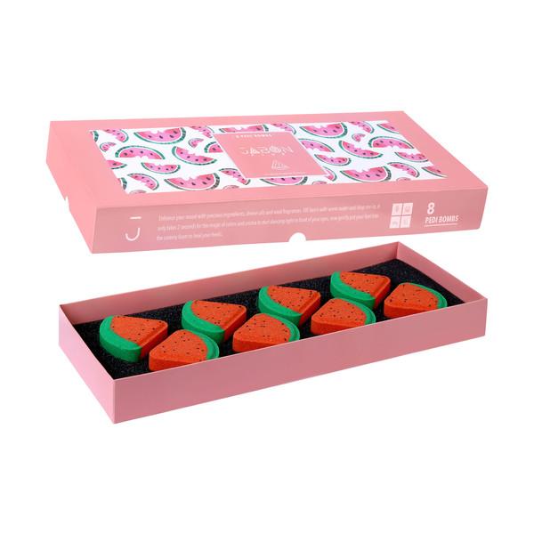 کوکتل پدیکور ژبن پلاس مدل Watermelon وزن 480 گرم بسته 8 عددی