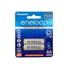 باتری قلمی قابل شارژ پاناسونیک مدل Eneloop بسته 2 عددی