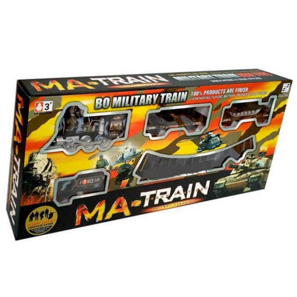 قطار بازی مدل ارتشی دودزا