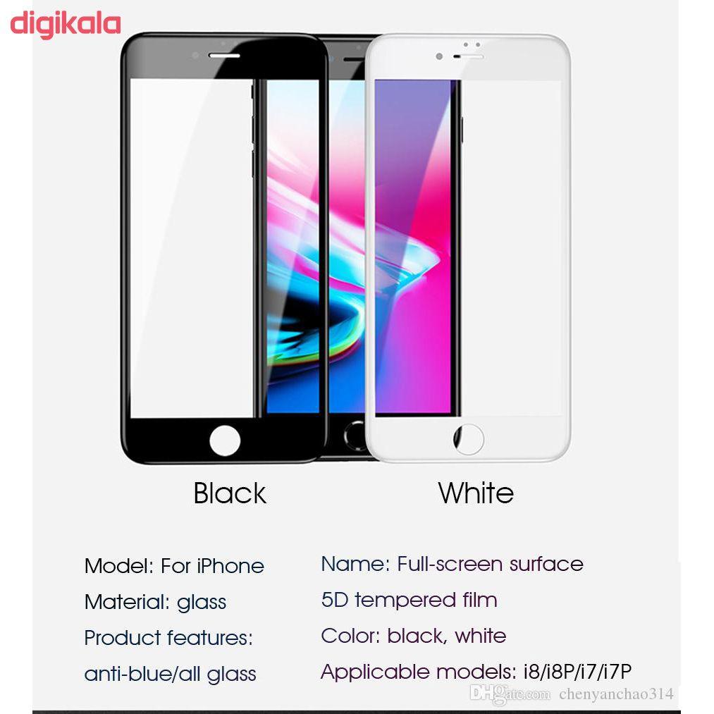 محافظ صفحه نمایش فوکس مدل PT001 مناسب برای گوشی موبایل اپل Iphone 7 Plus/8 Plus main 1 5