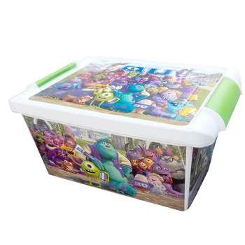 جعبه اسباب بازی کودک طرح کارخانه هیولا کد SM77