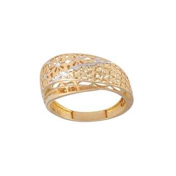 انگشتر طلا 18 عیار زنانه کد G745