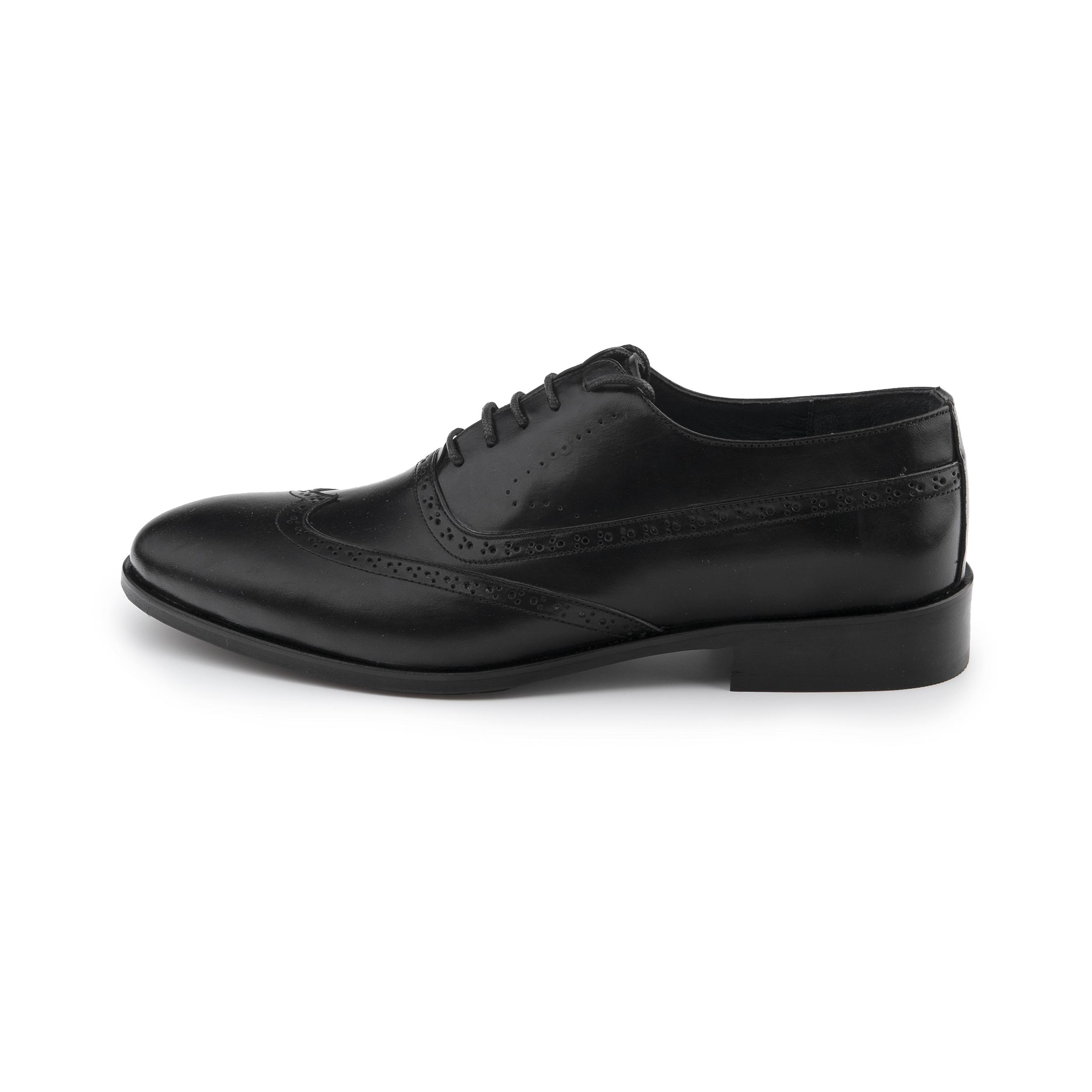 کفش مردانه چرم مشهد مدل J6029001