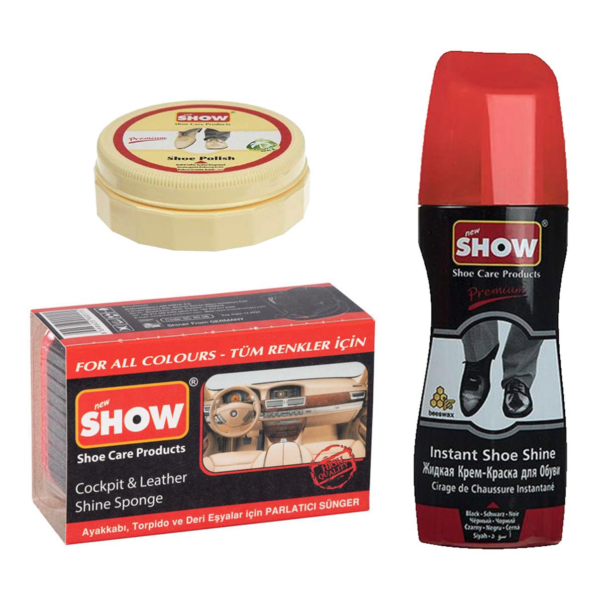 مجموعه تمیز کننده کفش شو مدل 07