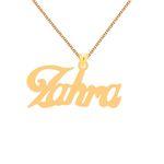 گردنبند طلا 18 عیار زنانه کرابو طرح زهرا مدل Kr1-105