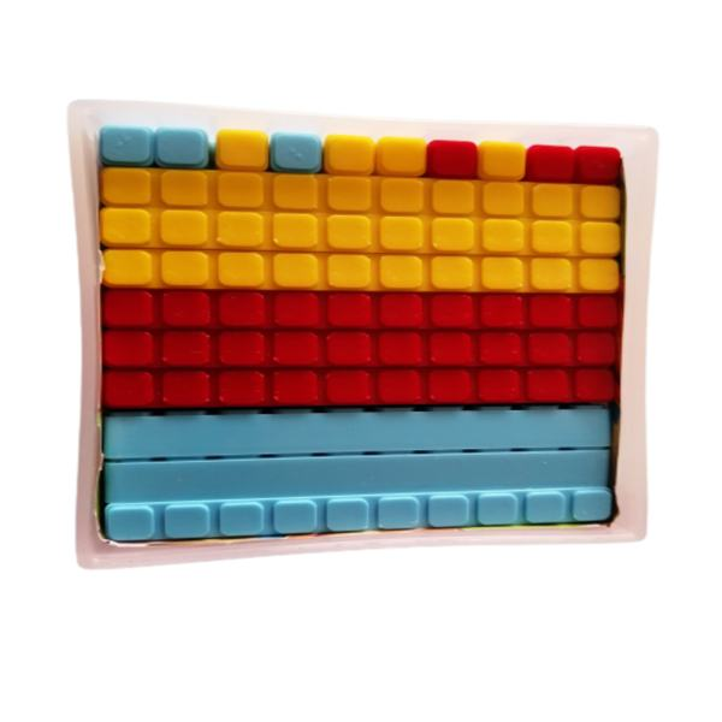 بازی آموزشی مکعب های ریاضی مدل کوییزنر کد 8000