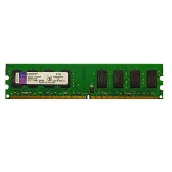 رم دسکتاپ DDR2 تک کاناله 800 مگاهرتزCL6 کینگستون مدل KVR800D2N6/2G ظرفیت 2 گیگابایت