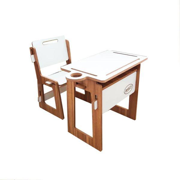 ست میز تحریر و صندلی ای اس تی مدل کودک کدA.S.T_KASA
