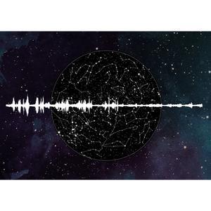 کارت پستال هوشمند صوتی B612 مدل کهکشانی