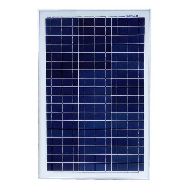 پنل خورشیدی ایداف مدل KL-SP-35W ظرفیت 35 وات