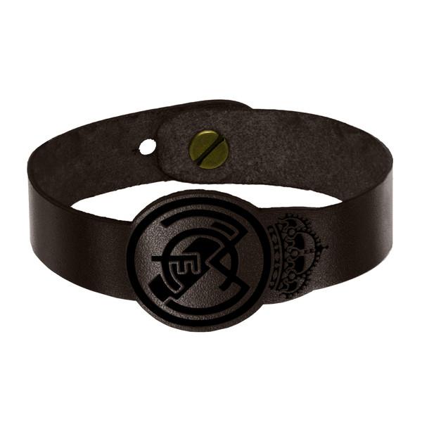 دستبند چرمی چرمینه اسپرت مدل رئال مادرید کد 1018