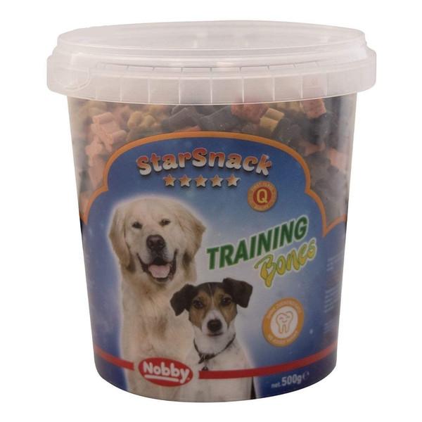 تشویقی سگ نوبی مدل training starsnack bones وزن500 گرم