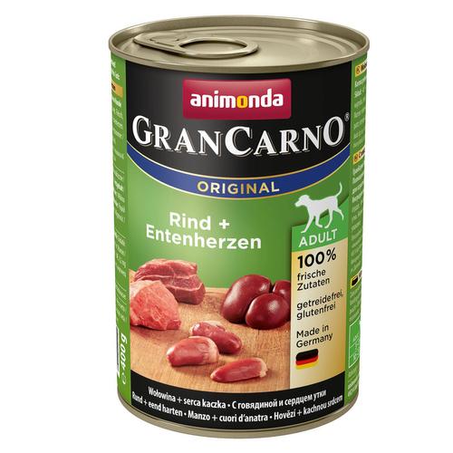 کنسرو غذای سگ آنیموندا مدل گوشت گاو و اردک وزن400 گرم