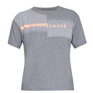 تی شرت آستین کوتاه ورزشی زنانه آندر آرمور مدل 1317889-035