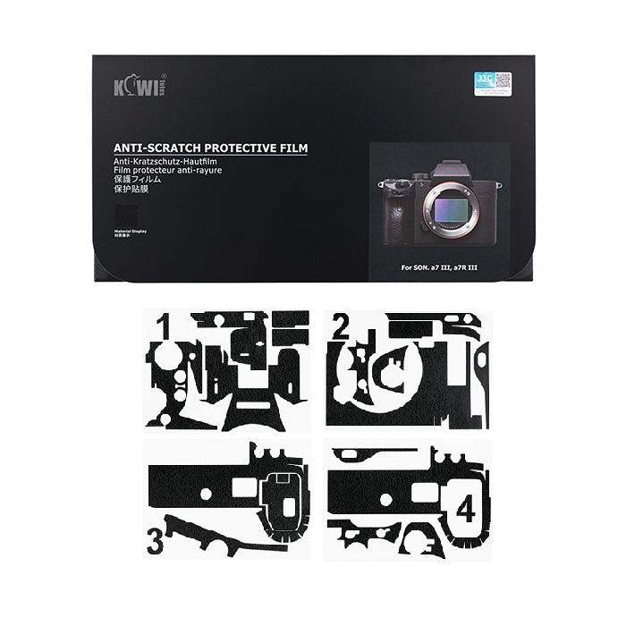 برچسب پوششی کی وی مدل KS-A7M3MK مناسب برای دوربین عکاسی سونی a7III / a7RIII