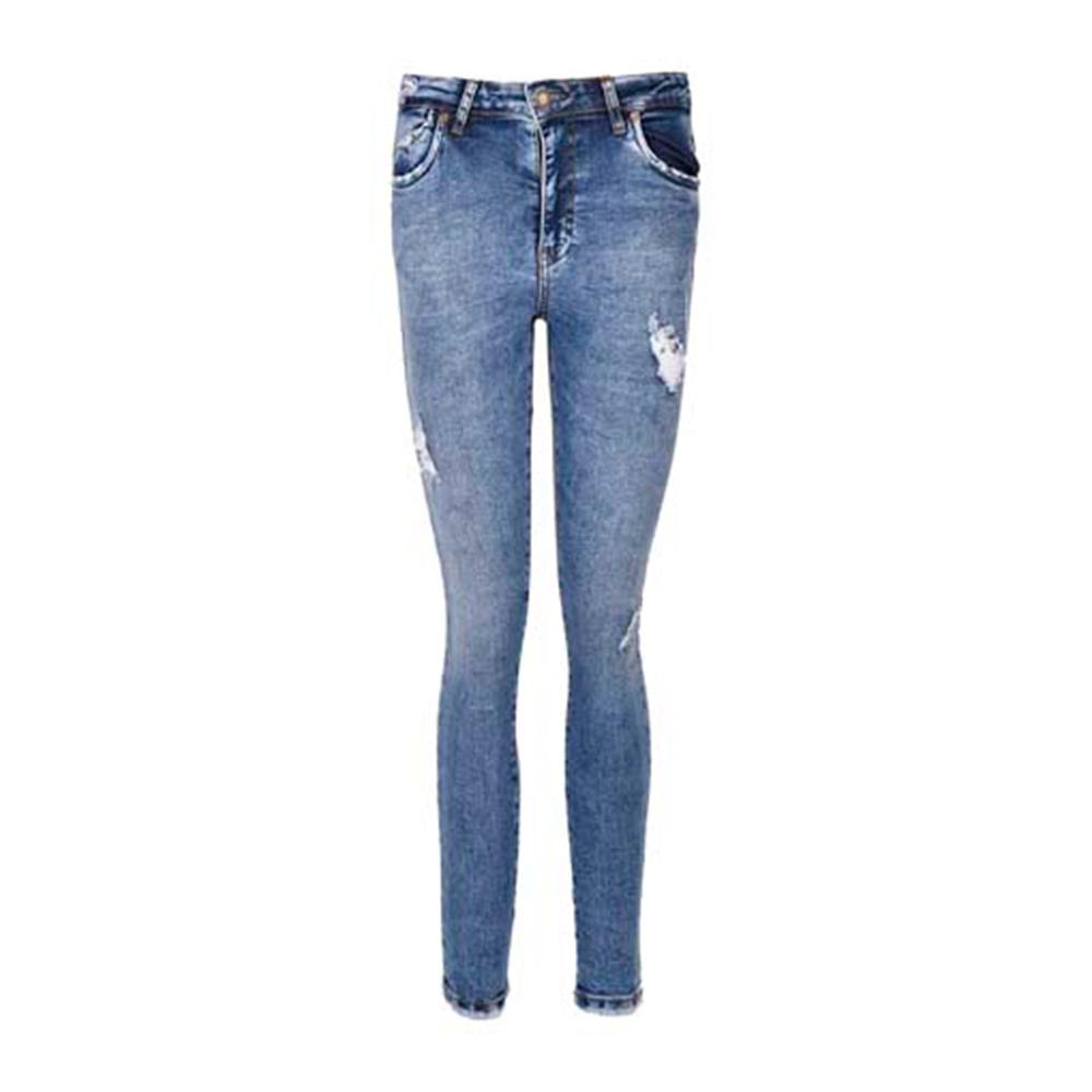 شلوار جین زنانه بادی اسپینر مدل 2551 کد 1 رنگ آبی