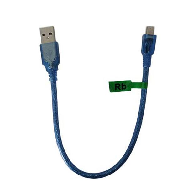کابل USB به MiniUSB مدل 001 طول 0.3 متر