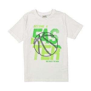 تی شرت پسرانه ال سی وایکیکی مدل 0SL964Z4-WHITE