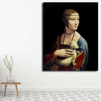 تابلو شاسی مدل نقاشی های داوینچی کد 1