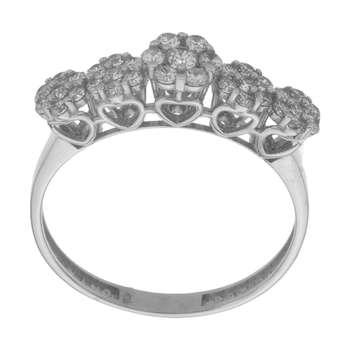 انگشتر طلا 18 عیار زنانه مایا ماهک مدل MR0436