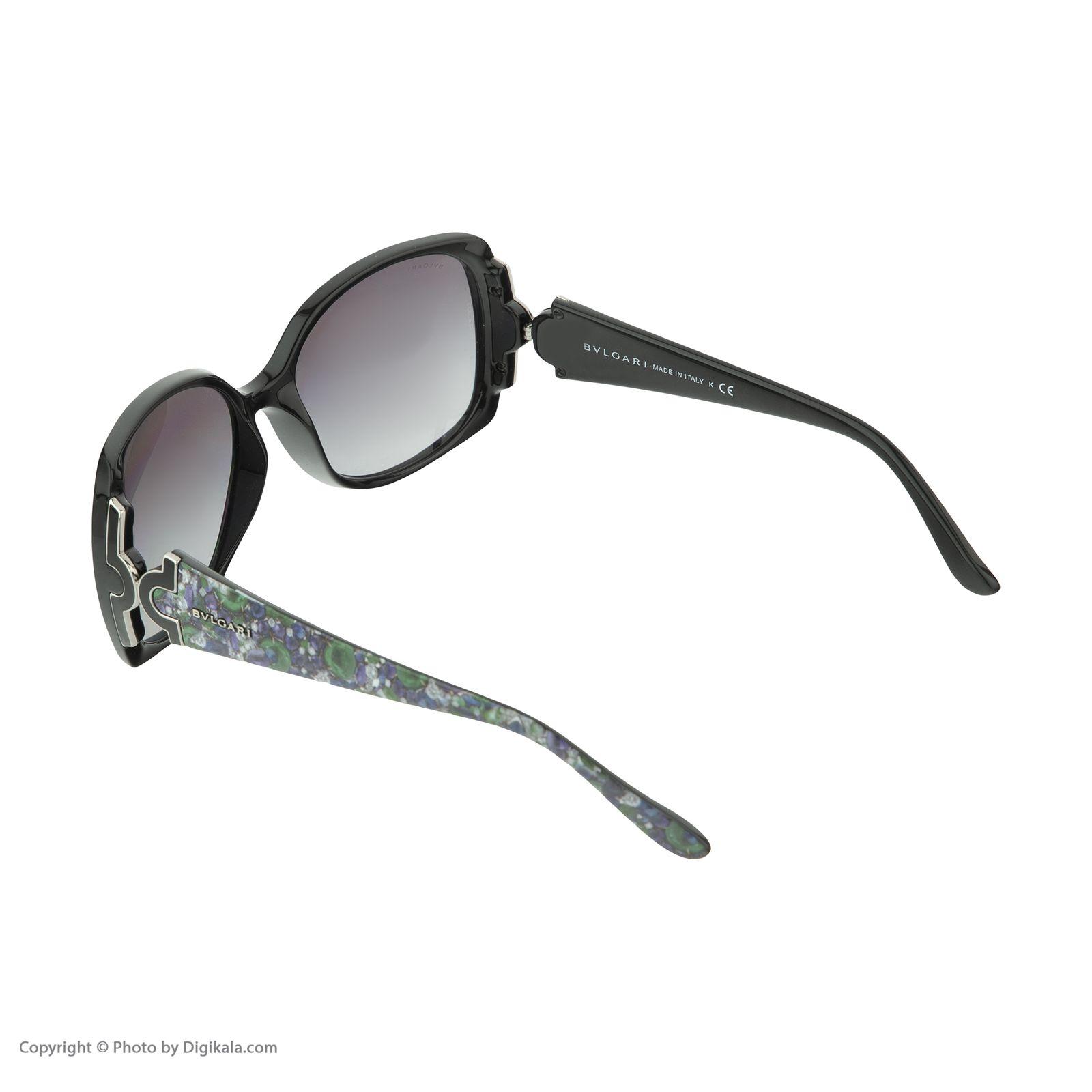 عینک آفتابی زنانه بولگاری مدل BV8078S 90111 -  - 6
