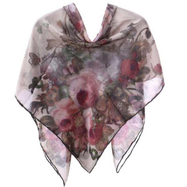 روسری زنانه مدل ابریشم مامی کد R03