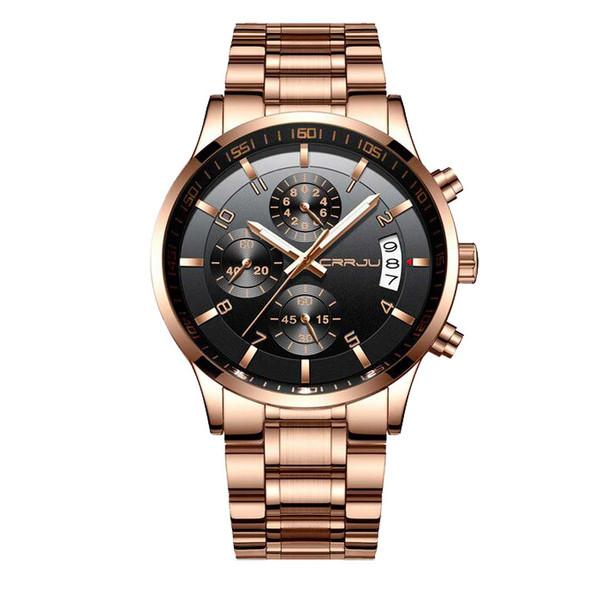 ساعت مچی عقربهای مردانه سی آر آر جی یو مدل rose2214