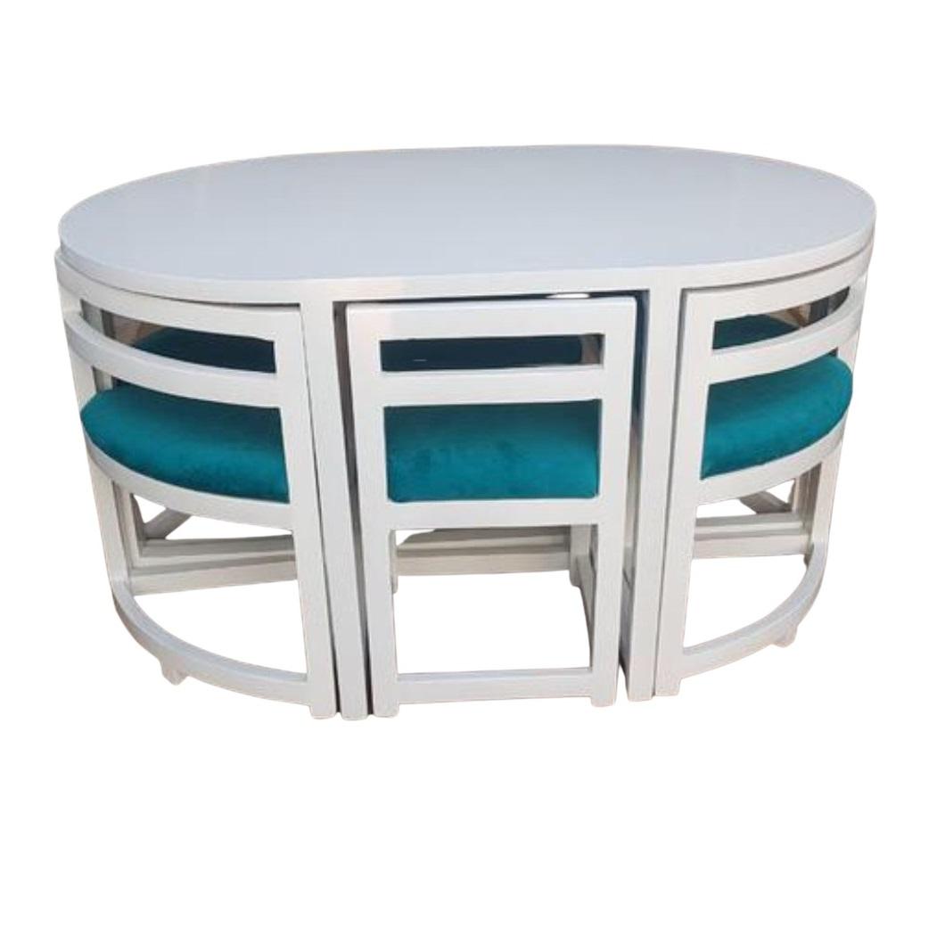 میز و صندلی ناهارخوری 6 نفره مدل Wh-004