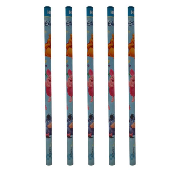 مداد مشکی مدل m07270 بسته 5 عددی
