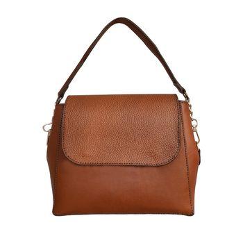 کیف دوشی زنانه چرم روژه مدل ZD01