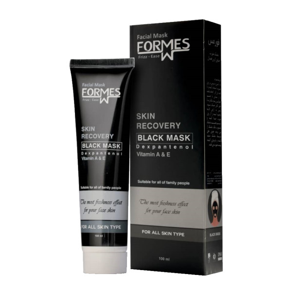 ماسک صورت فورمس مدل Black mask حجم 100 میلی لیتر