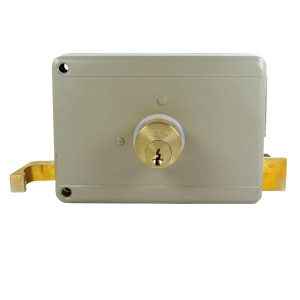 قفل حیاطی اس تی ای مدل 111A-12