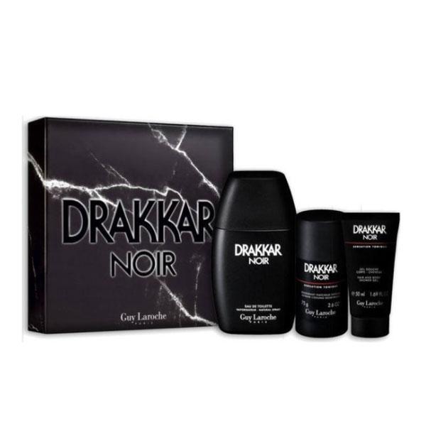 ست ادو تویلت مردانه گای لاروش مدل Drakkar Noir حجم 100 میلی لیتر