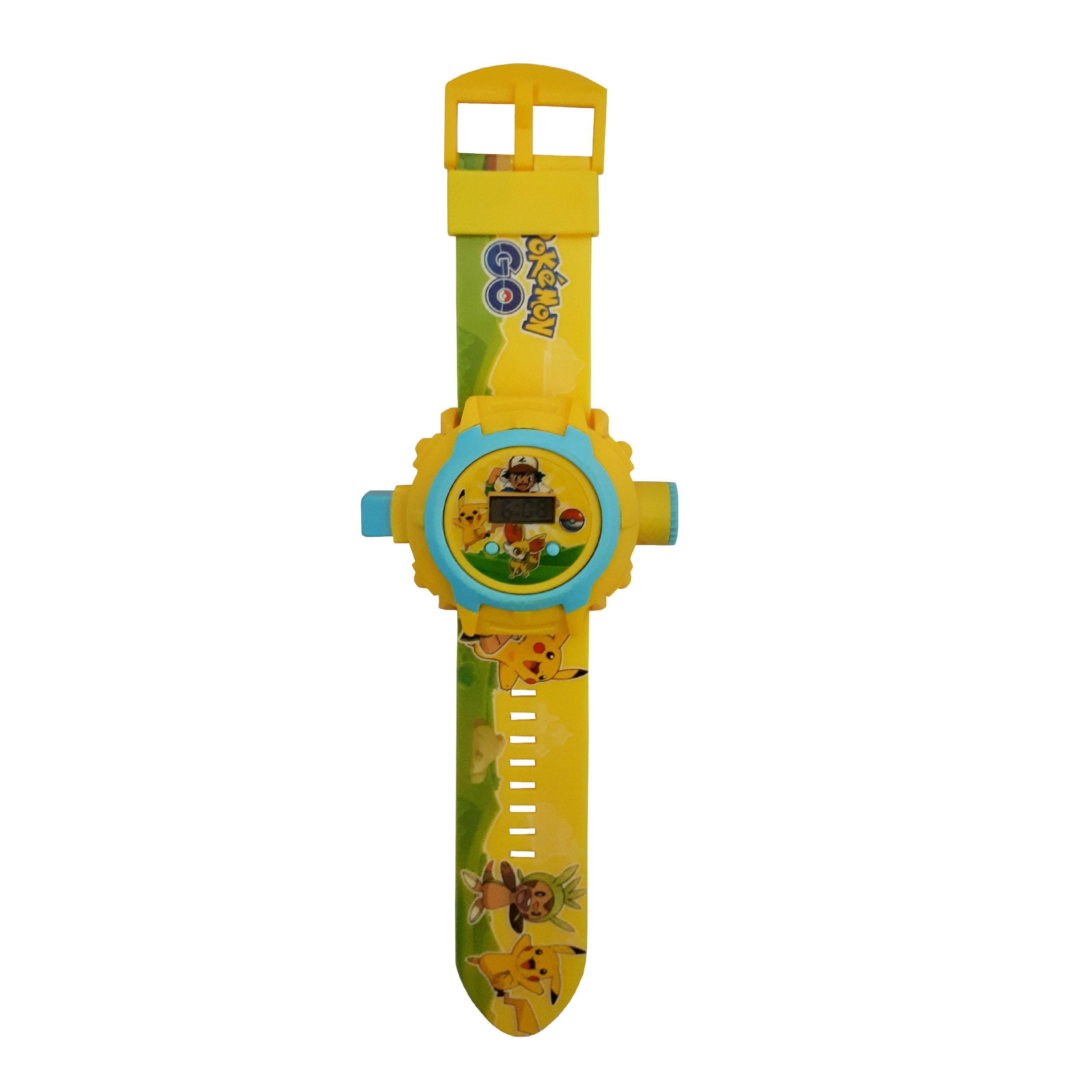 ساعت اسباب بازی مدل pokemon کد 10020