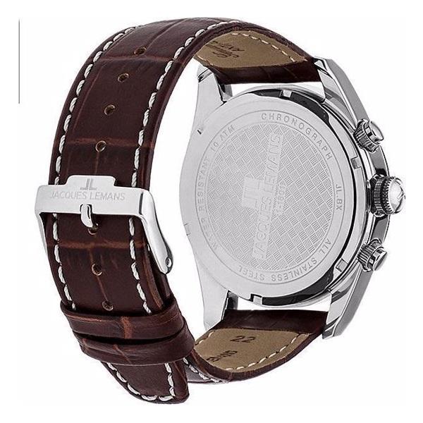 ساعت مچی عقربهای مردانه ژاک لمن مدل 1-1801D