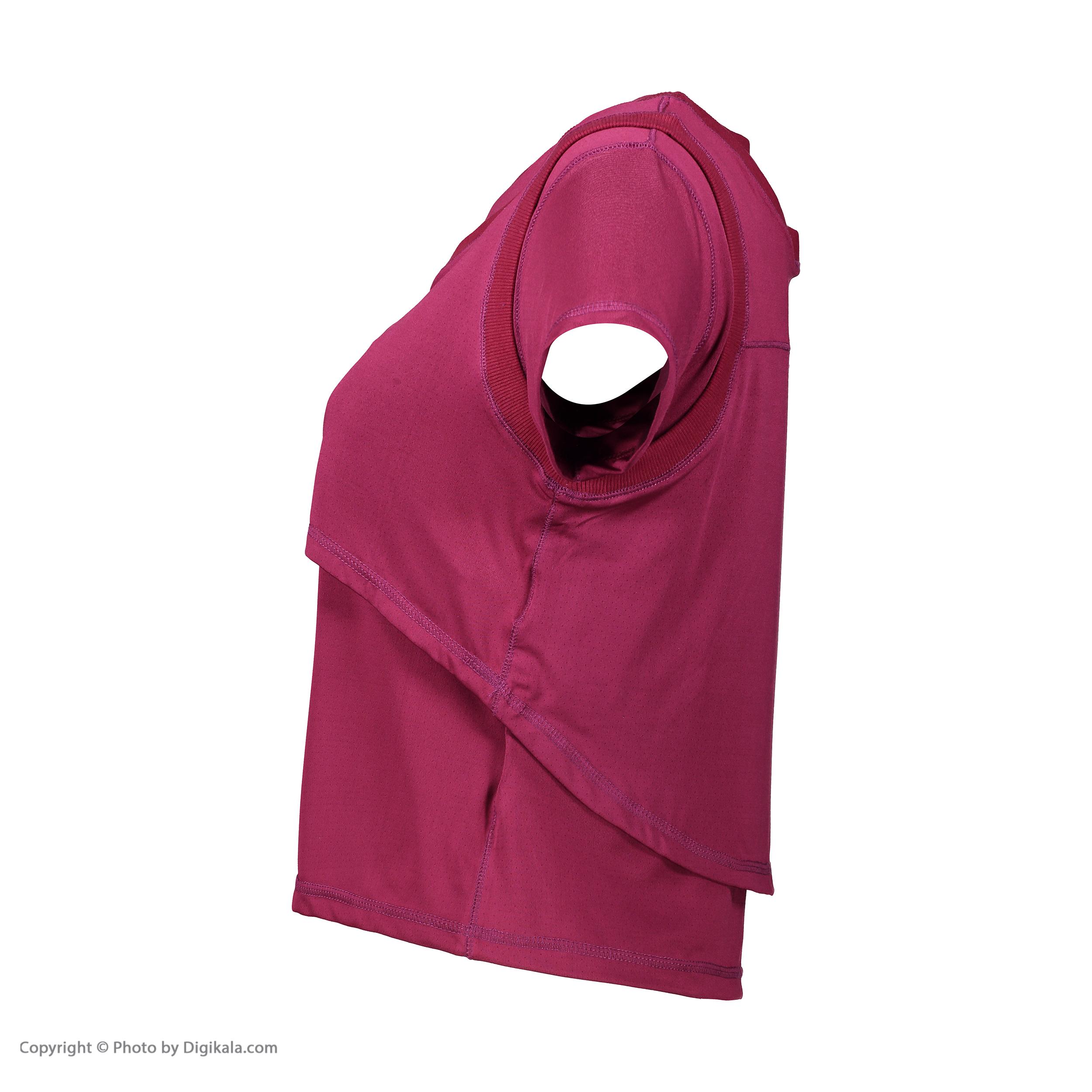 تی شرت ورزشی زنانه مون مدل 1631351-71
