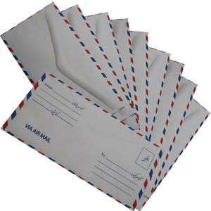 پاکت نامه پستی تیما مدل AIR-MAIL بسته 10 عددی