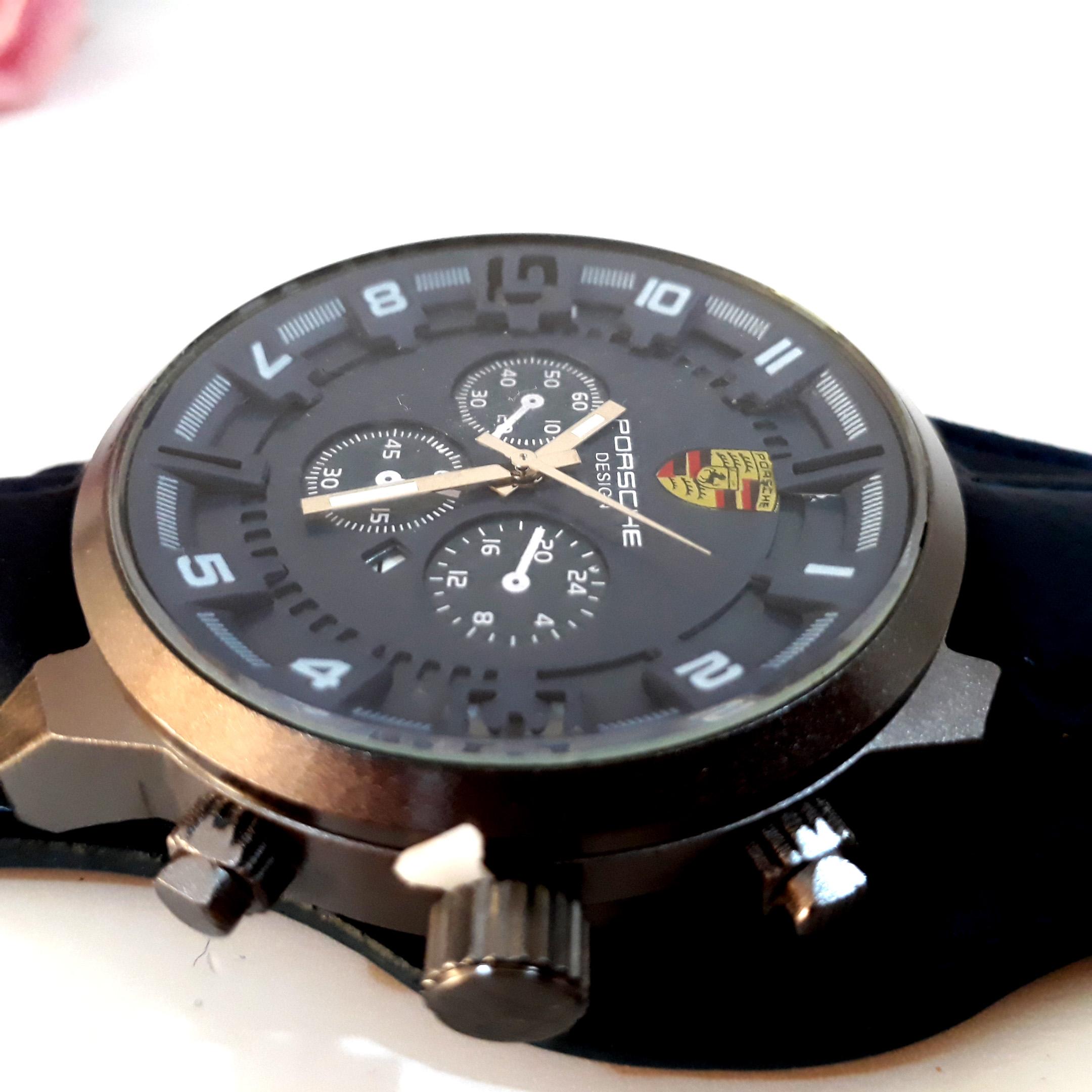 ساعت مچی عقربهای مردانه پورشه مدل 8117 کد 25              اصل