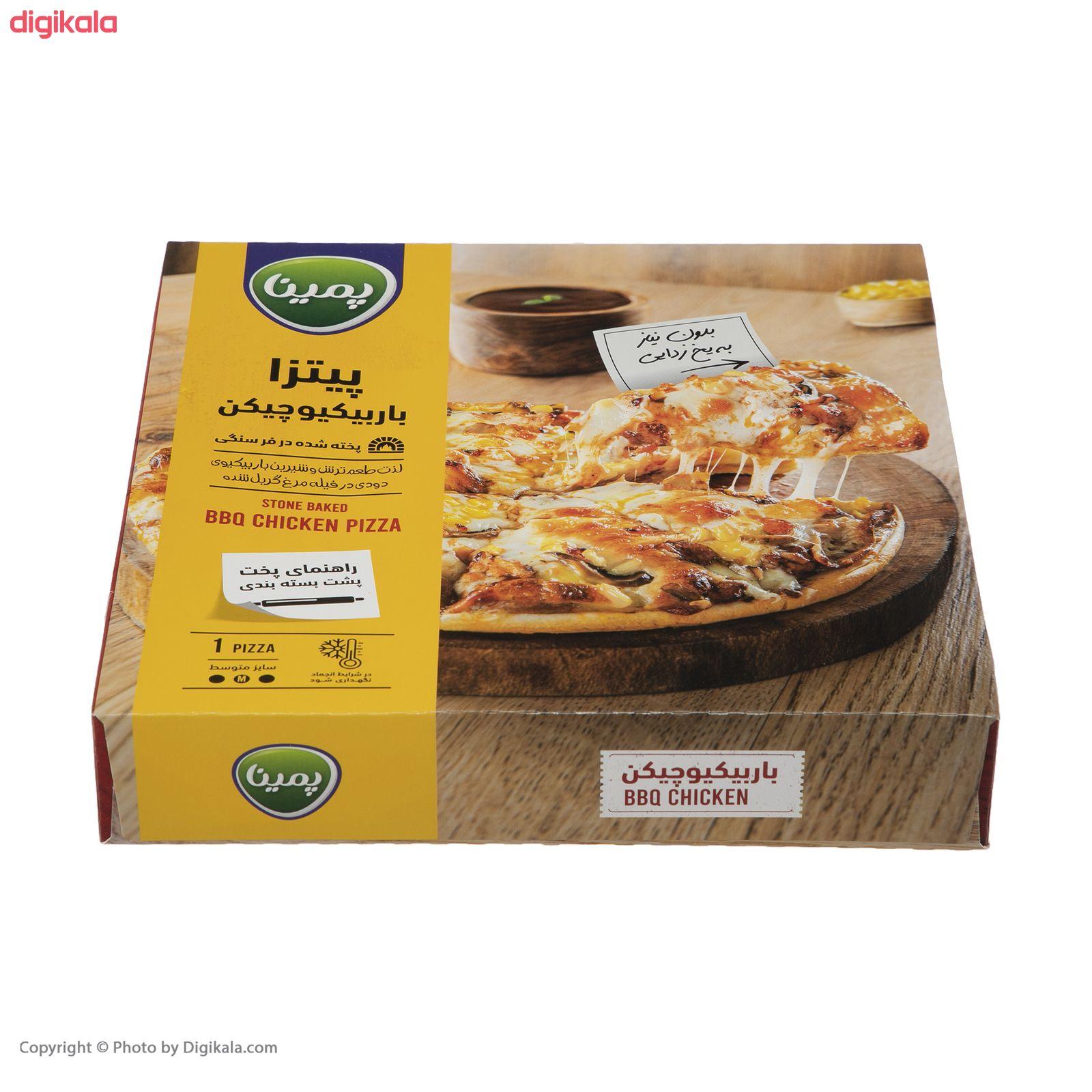 پیتزا باربیکیو چیکن پمینا کاله مقدار 470 گرم main 1 4