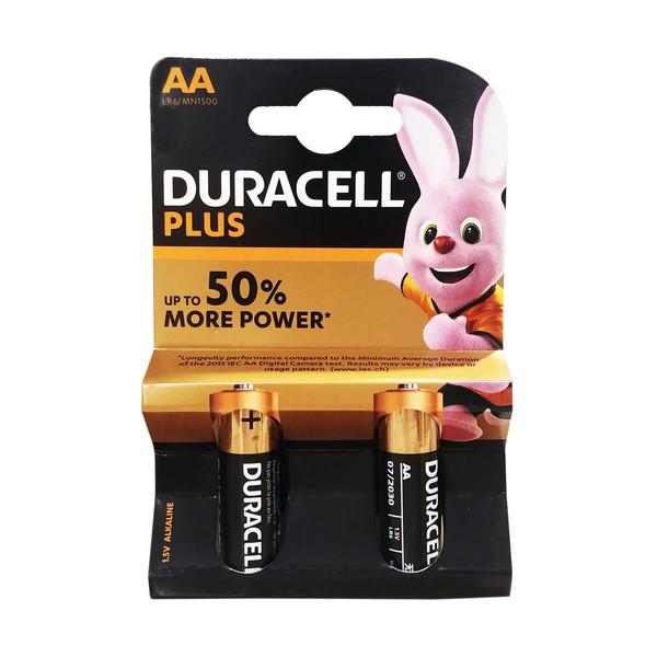 باتری قلمی دوراسل مدل PLUS-LR6 بسته 2 عددی